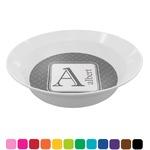 Diamond Plate Melamine Bowl (Personalized)