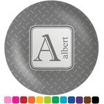Diamond Plate Melamine Plate (Personalized)