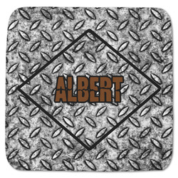 "Diamond Plate Memory Foam Bath Mat - 48""x48"" (Personalized)"