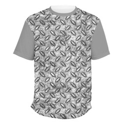 Diamond Plate Men's Crew T-Shirt (Personalized)