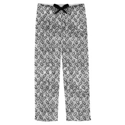 Diamond Plate Mens Pajama Pants (Personalized)