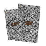 Diamond Plate Microfiber Golf Towel (Personalized)