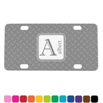 Diamond Plate Mini License Plate (Personalized)