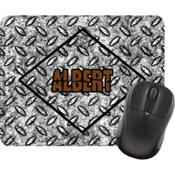 Diamond Plate Rectangular Mouse Pad (Personalized)