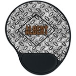 Diamond Plate Mouse Pad with Wrist Support