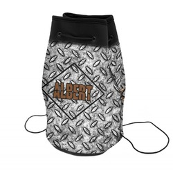 Diamond Plate Neoprene Drawstring Backpack (Personalized)