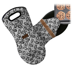 Diamond Plate Neoprene Oven Mitt (Personalized)