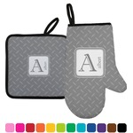 Diamond Plate Oven Mitt & Pot Holder (Personalized)