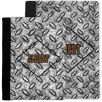 Diamond Plate Notebook Padfolio w/ Name or Text