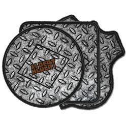 Diamond Plate Iron on Patches (Personalized)