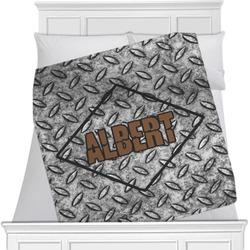 Diamond Plate Minky Blanket (Personalized)