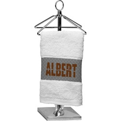 Diamond Plate Finger Tip Towel (Personalized)