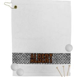 Diamond Plate Golf Towel (Personalized)