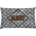 Diamond Plate Pillow Case (Personalized)