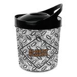 Diamond Plate Plastic Ice Bucket (Personalized)