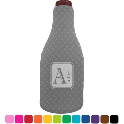 Diamond Plate Wine Sleeve (Personalized)
