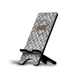 Diamond Plate Phone Stand (Personalized)