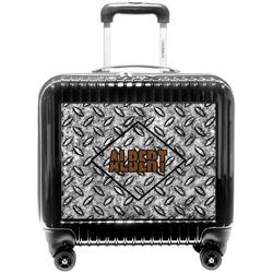 Diamond Plate Pilot / Flight Suitcase (Personalized)