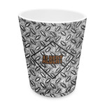 Diamond Plate Plastic Tumbler 6oz (Personalized)