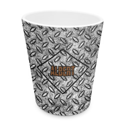 Diamond Plate Plastic Tumbler 6oz (Personalized)