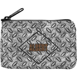 Diamond Plate Rectangular Coin Purse (Personalized)