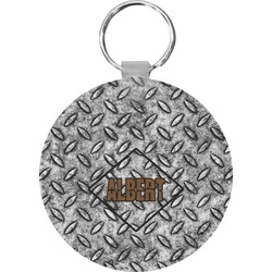 Diamond Plate Keychains - FRP (Personalized)