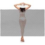 Diamond Plate Sheer Sarong (Personalized)