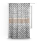 Diamond Plate Sheer Curtains (Personalized)