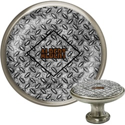 Diamond Plate Cabinet Knobs (Personalized)