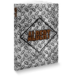 Diamond Plate Softbound Notebook (Personalized)