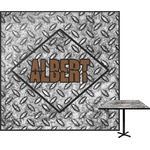 Diamond Plate Square Table Top (Personalized)