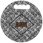 Diamond Plate Stadium Cushion (Round) (Personalized)