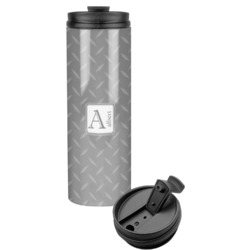 Diamond Plate Stainless Steel Tumbler (Personalized)