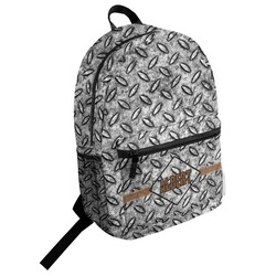 Diamond Plate Student Backpack (Personalized)