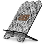 Diamond Plate Stylized Tablet Stand (Personalized)
