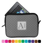 Diamond Plate Tablet Case / Sleeve (Personalized)
