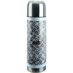 Diamond Plate Stainless Steel Thermos (Personalized)