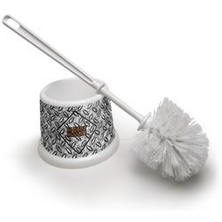 Diamond Plate Toilet Brush (Personalized)