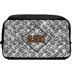 Diamond Plate Toiletry Bag / Dopp Kit (Personalized)