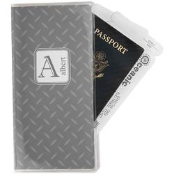 Diamond Plate Travel Document Holder
