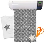 Diamond Plate Heat Transfer Vinyl Sheet (12