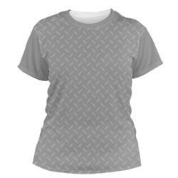 Diamond Plate Women's Crew T-Shirt (Personalized)