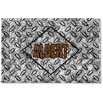 Diamond Plate Woven Mat (Personalized)
