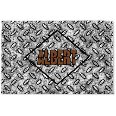 Diamond Plate Woven Mat (Personalized)