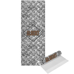 Diamond Plate Yoga Mat - Printed Front (Personalized)