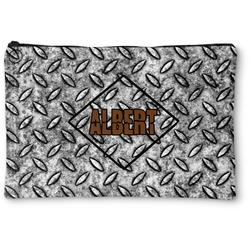 Diamond Plate Zipper Pouch (Personalized)