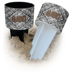Diamond Plate Beach Spiker Drink Holder (Personalized)