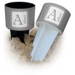 Diamond Plate Beach Spiker Drink Holder (Personalized)
