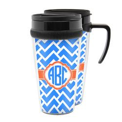 Zigzag Acrylic Travel Mugs (Personalized)