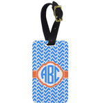 Zigzag Aluminum Luggage Tag (Personalized)